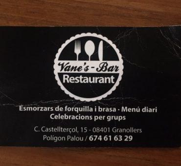 vane's restaurants