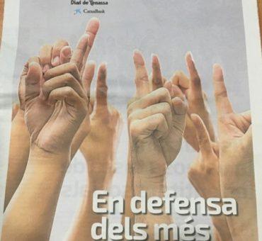 2019.12.28 - Diari de Terrassa - portada
